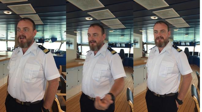 Guillaume Le Saux, thuyền trưởng tàu sửa chữa cáp của nhà mạng Orange, Pháp