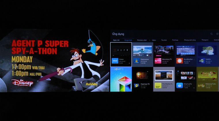 Hướng dẫn cách xem 2 màn hình trên tivi Samsung