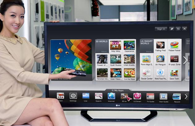 Cách kết nối mạng trên tivi LG