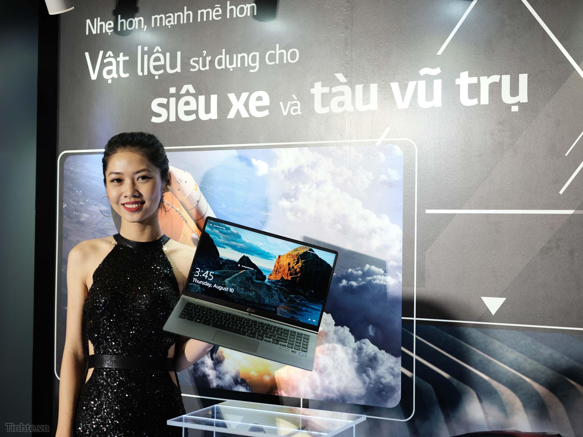 Laptop LG Gram Chính Thức Có Mặt Tại Việt Nam