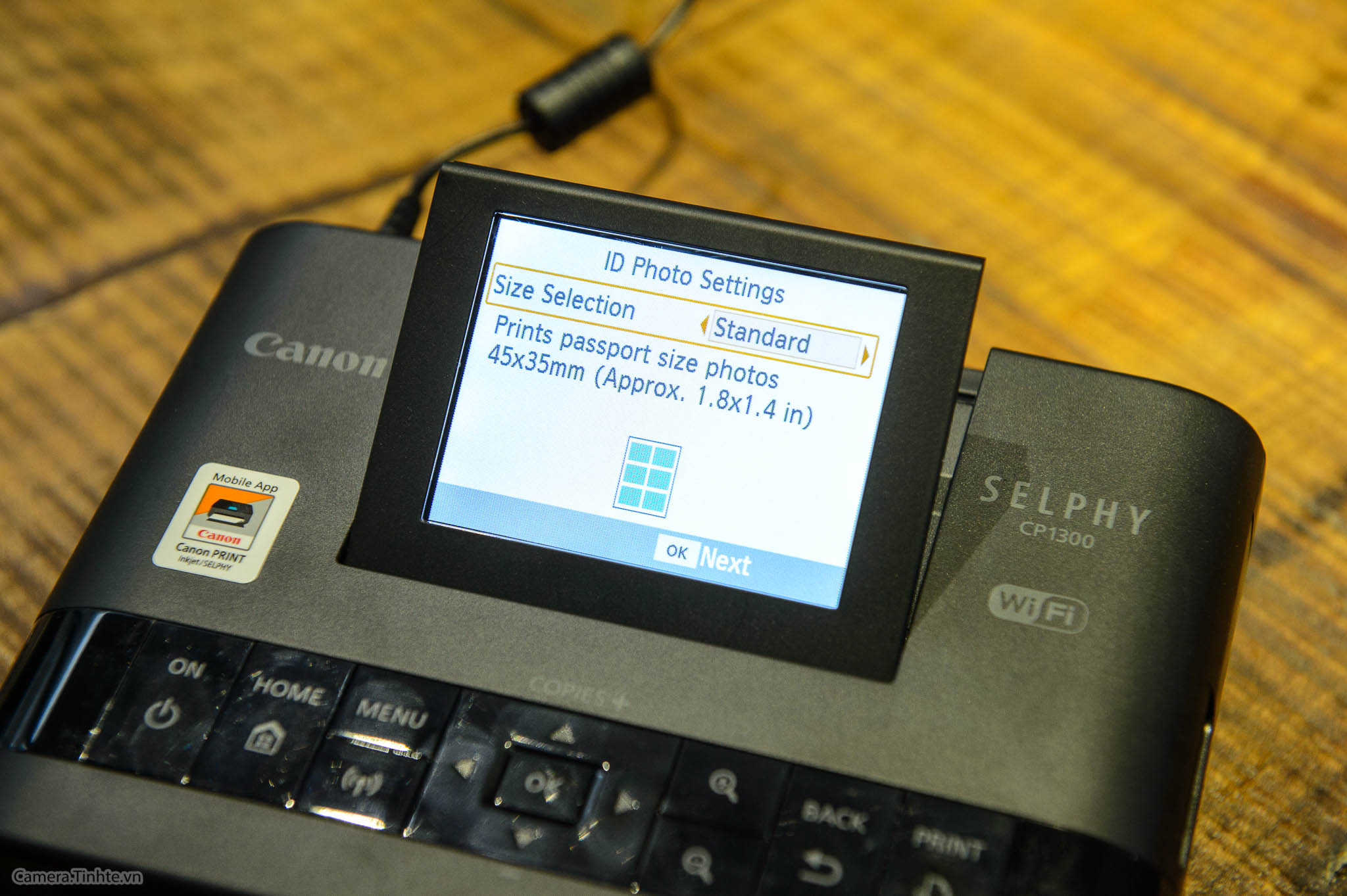 Đánh giá máy in mini Canon Selphy CP1300 - Kết nối Wifi dễ, xử lý nhanh